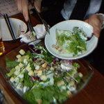 FISHMANS SAPPORO - 牡蠣入りサラダ