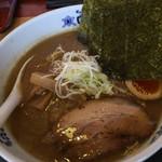 味の時計台 - 旭川醤油ラーメン。