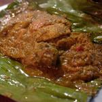 ブリ・マデ - ペペス・イカン    サバのバナナリーフ包み焼き