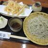 蕎楽 - 料理写真:「白エビの天せいろ  \1.630」