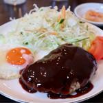 近江珈琲 - 料理写真:ハンバーグ定食