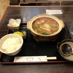 65475871 - 味噌煮込みうどん定食   1050円