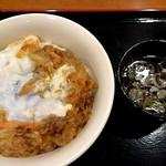 山田うどん - かき揚丼