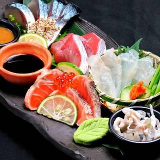 九州で獲れた旬の魚を楽しめる!