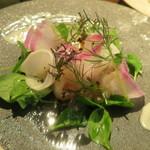 ブラッスリーアムール - 24節気のコース お魚料理の前菜