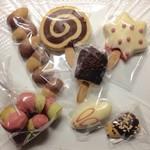 やきがしや SUSUCRE - 自宅用のクッキー達