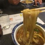 手打ちうどん 鶴丸 - 伸びコシのあるストレートな麺