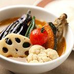 PROVO - 鶏と野菜のスープカレー 1000円