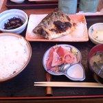 魚鐵 - 寒鯖塩焼き定食