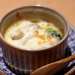 酒庵 田なか - 牡蠣のグラタン