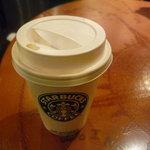 スターバックス・コーヒー - ☆熱々ですが飲みやすいですね(^^♪☆