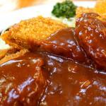 洋食 ZORO - 揚げ物もカレーによく合っていて美味しい♪