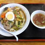 ふなせ - 中華丼650円