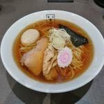 麺匠 玄龍 - あごだし醤油(味玉入り)842円
