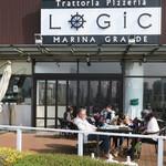 Trattoria&Pizzeria LOGIC - 足元にワンちゃんがいますネ