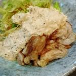 九州豚骨 ちゃんぽん 頃場 - 春のおすすめ 鶏南蛮~和風タルタルソース~