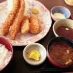 みそかつ 佳奈家 - 料理写真:えびひれ定食