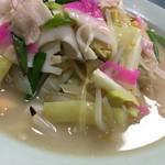 康楽 - 野菜の甘み旨味が溶け出した柔らかなスープ