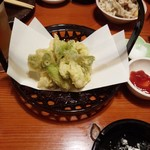 楽市楽座 - タラの芽天ぷら