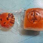 パン工房 EMU - 菓子パン(チョコパン)、小平あんぱん