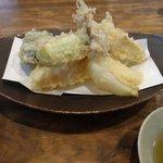 蕎麦屋 木田 - 天ぷら