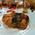 チャオチャオ餃子 - 山芋とつくねの磯辺揚げ