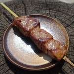 匠家 - 飛騨牛串(ロース肉使用)(1,000円)