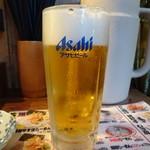 一兆家 - 生ビール(520円)