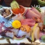 海鮮レストラン 遊 - 美味しいお刺身♡