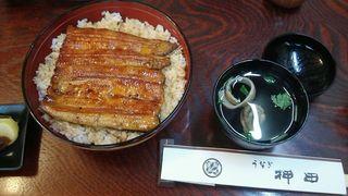 うなぎ押田 - 殿様丼6500円(鰻はご飯の中にもう一尾♪)