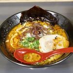 麺屋 一矢 - ■黒らーめん 750円