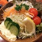 やきとり山平 - サラダ