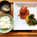 海のレストラン - 讃岐オリーブビーフ 1800円(税込)