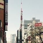 65498259 - 浜松町駅からの東京タワー!!