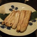 鰍嘉 - 鰻は白焼きで
