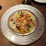俺のイタリアンJAZZ - 本日鮮魚のカルパッチョ
