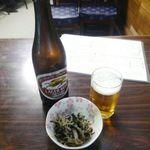 辰巳庵 - ビールとおとおし