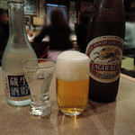 いね鮨 - 日本酒とビールで乾杯
