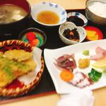 ひらはた - ひらはた定食1800円(^^)