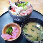 とん亭 - 朝とれてんこ丼セット