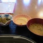 ゆいま~る食堂 - 小鉢