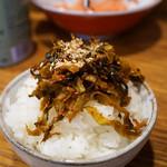 風雲 - 辛子高菜ご飯