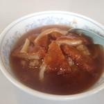 中国料理 朋友 - カツ丼(当店オリジナル)大盛り¥800