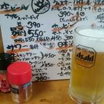 大衆食堂シックダール - 男前ビール