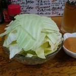 大衆食堂シックダール - スパイシーキャベツ