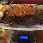 65509745 - 皿・フォーク共の重量は、3,264g。皿・フォーク重量 785g。総重量実測値は、2,480gであった。