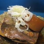 築地魚河岸 海鮮 - ブリ大根アップ