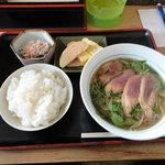 食事処 たなべ - 料理写真:合鴨なんば定食