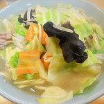 麺魂 - タンメン¥700