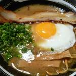 焼麺 劔 - 目玉焼き麺